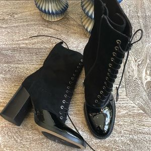 Capezzani Leather Lace Up Boots